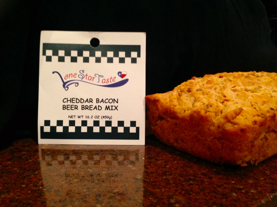 Cheddar Bacon Bear Bread from Lone Star Taste